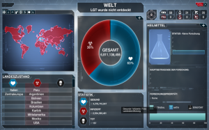 Plague Inc Screenshot Infofenster Welt