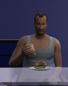 Sims4 Burger Bug