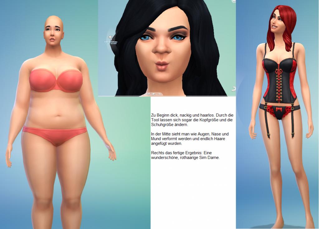 Sims4 Erstelle einen Sim Tool