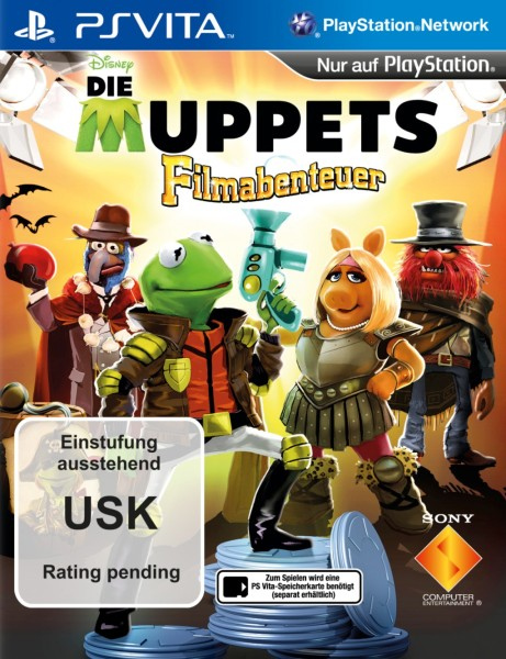 Die Muppets Filmabenteuer Cover