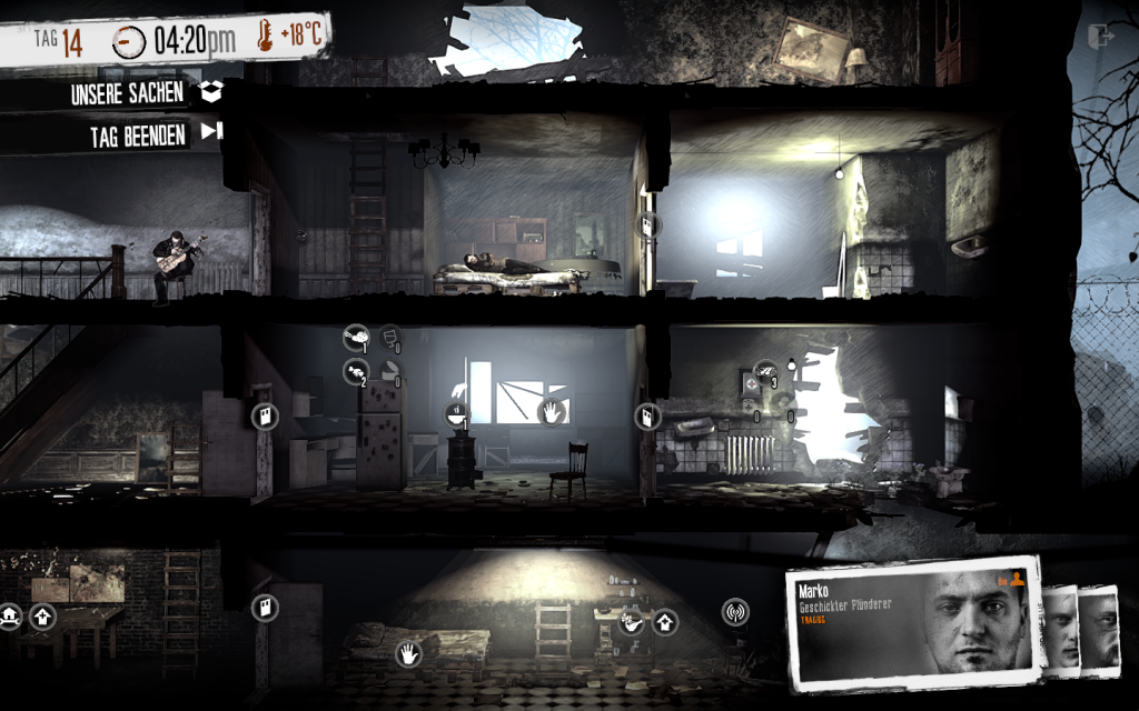 This War of Mine unser Haus 2