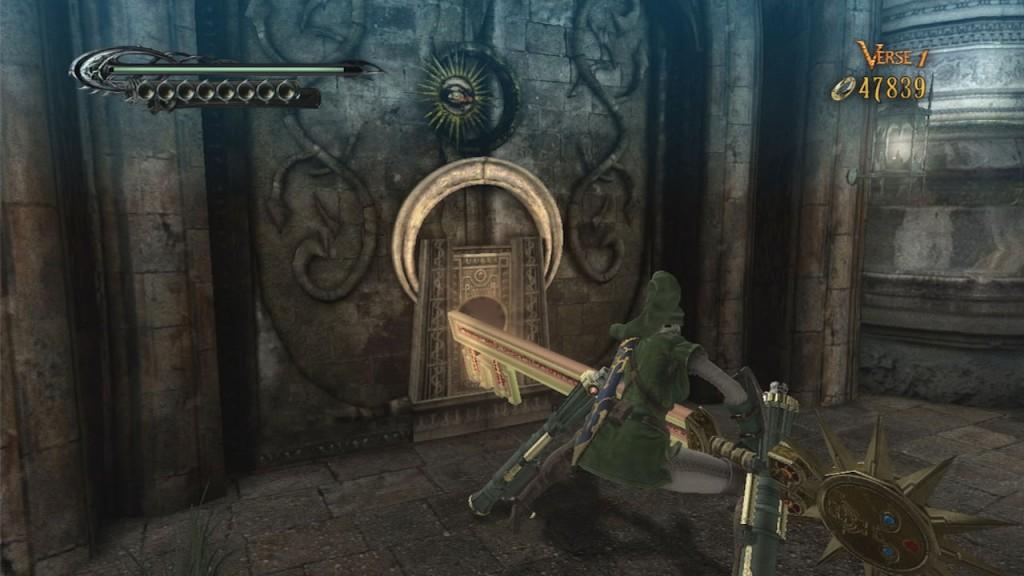 Bayonetta open door