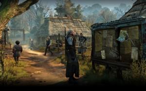 Geralt am Anschlagbrett