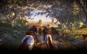 Beispiel für Nebenquest: Pferderennen