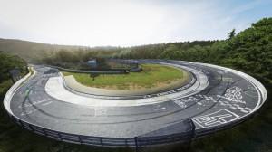 Die Nordschleife des Nürburgrings