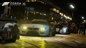 BMW im Nachtrennen - den hab ich tatsächlich über Lose gewonnen ;)