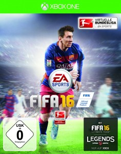 FIFA 16 Cover - Xbox One