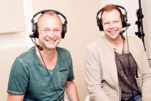 Die Kommentatoren der aktuellen FIFA-Saison (links: Frank Buschmann; rechts: Wolff-Christoph Fuss