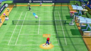 Spickzettel auf dem Feld (Kreis umrandet Mario und empfielt nächsten Schlagtyp)