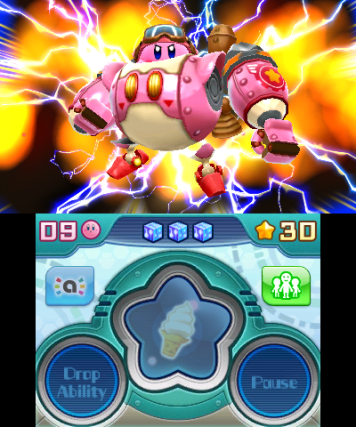 kirby transform mecha