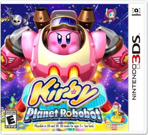 cover kirby planet robobot