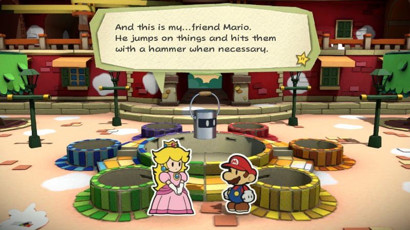 Peach and Mario