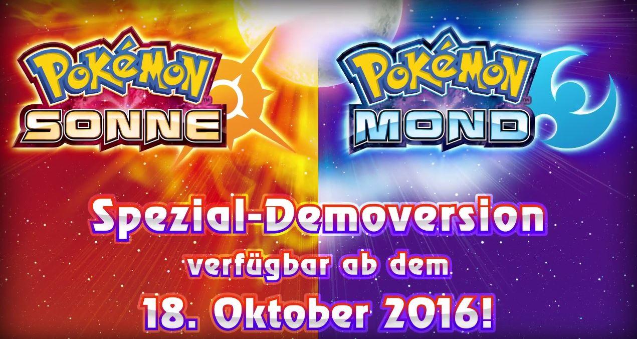 Pokemon Sonne Und Mond Demo Download