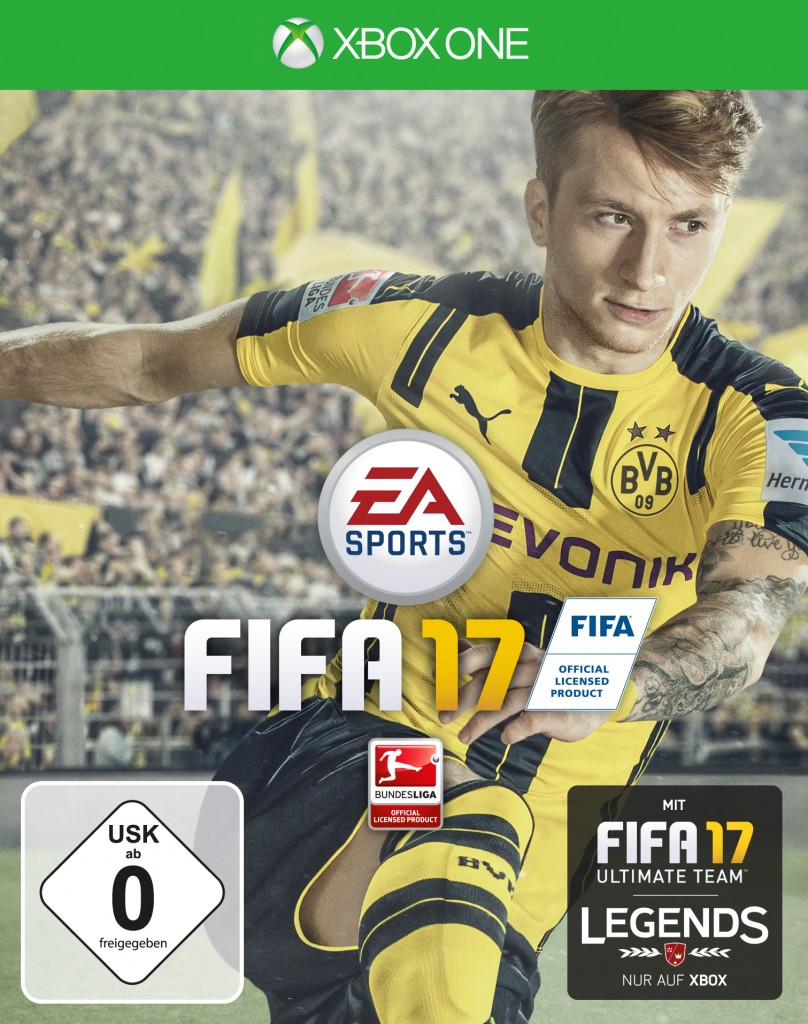 FIFA 17 Cover - Xbox One